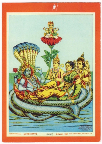 Vishnou-en-yoga-nidra-